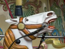 Free Carousel Horse Royalty Free Stock Photography - 2819267