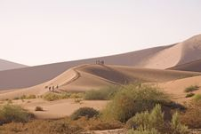 Free Sand Dunes Stock Photography - 2819302
