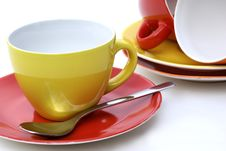 Cup And Saucer. Royalty Free Stock Photo