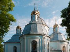 Free Church In Town Novovolynsk Royalty Free Stock Photo - 2819815
