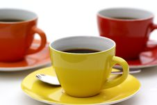Coffee Triangle. Stock Photos