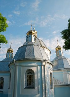 Free Church In Town Novovolynsk Royalty Free Stock Photos - 2819888