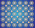 Free Blue Background Of Golden Christmas Star Royalty Free Stock Images - 28101049