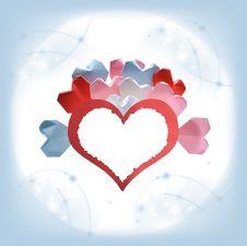 Free Valentine Card Royalty Free Stock Photos - 28103188