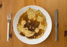Free Burnt Pancake Stock Image - 28103271