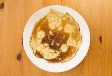 Free Burnt Pancake Stock Photography - 28103272