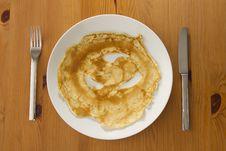 Free Pancake Royalty Free Stock Image - 28103276