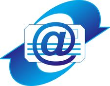 Free Email Icon Royalty Free Stock Photos - 28103518