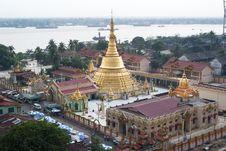 A Stupa In Myanmar