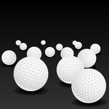 Free Golf Balls Royalty Free Stock Photos - 28107438