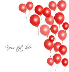 Free Red Balloons Royalty Free Stock Photos - 28107778