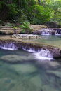 Free Deep Forest Waterfall &x28;Erawan Waterfall&x29; Royalty Free Stock Images - 28113849