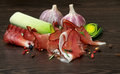 Free Jamon And Vegetables Stock Photo - 28119190