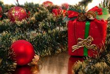 Christmas Fallalery Royalty Free Stock Photo