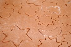 Free Homemade Gingerbread Cookies With Different Shapes Stock Images - 28112964