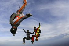 Free Skydiving Photo. Royalty Free Stock Photo - 28118935