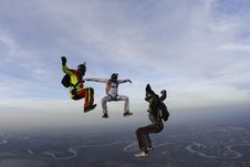 Free Skydiving Photo. Stock Image - 28118981