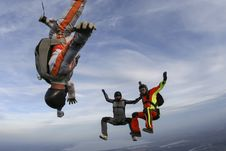 Free Skydiving Photo. Royalty Free Stock Photo - 28119005