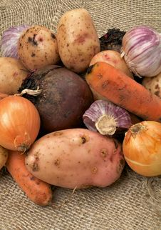 Free Raw Vegetables Royalty Free Stock Photo - 28119165