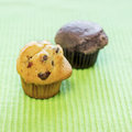 Free Chocolate Chip Muffins Royalty Free Stock Photos - 28121998