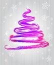 Free Shiny Violet Blue Tree Flare Concept Stock Photo - 28124640