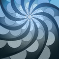 Free Abstract Symmetric Blue Swirl Blossom Shape Stock Image - 28124741