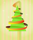 Free Tree Triangle With Swirl On Vertical Background Stock Images - 28124944