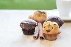 Free Chocolate Chip Muffin Stock Photos - 28122033