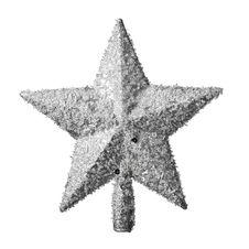 Free Golden Christmas Star Decoration Stock Image - 28123291