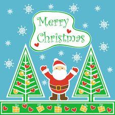 Free Card Christmas Royalty Free Stock Photos - 28123528