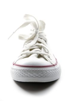 Free White Sneaker Royalty Free Stock Image - 28124386