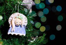 Handmade Angel Decoration Royalty Free Stock Photo