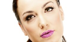 Attractive Girl. Make Up. Perfect Skin Royalty Free Stock Photos