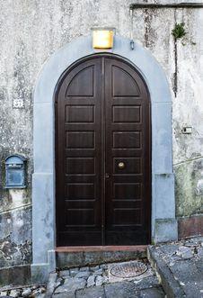 Free Italian Door Stock Photo - 28127900