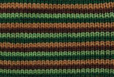 Free Fabric Knitting With Colored Horizontal Stripes Stock Images - 28128164