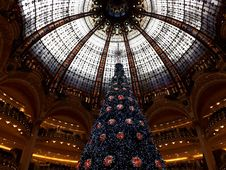 Galeries Lafayette Paris France Royalty Free Stock Photography
