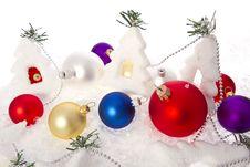 Free Christmas Trees Royalty Free Stock Photos - 28129888