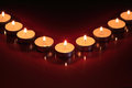 Free Candles On Dark Royalty Free Stock Image - 28134376