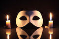 Free Mask And Candles Royalty Free Stock Photos - 28134378
