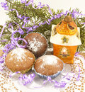 Free The Christmas Muffins Stock Images - 28135644