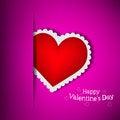 Free Purple Pocket Love Royalty Free Stock Image - 28138386