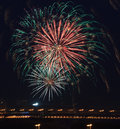 Free Fireworks In The Night Sky. Royalty Free Stock Images - 28138799