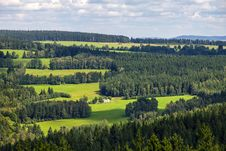 Free Landscape In The South Of Czech Republic. Royalty Free Stock Photo - 28130625