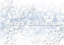 Free Christmas Background With White Snowflakes Stock Photo - 28131800