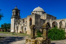 Free San Jose Spanish Mission, TX Stock Photos - 28131853