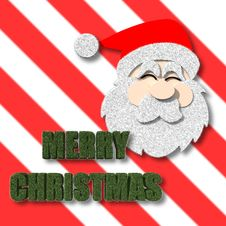 Free Merry Christmas With Santa Claus Royalty Free Stock Images - 28133789