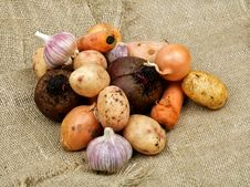 Free Heap Of Vegetables Royalty Free Stock Photography - 28134837