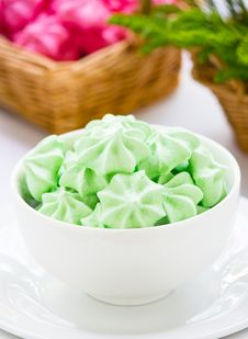 Free Meringue Cookies Stock Photo - 28135210