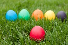 Free Easter Eggs Royalty Free Stock Photography - 28136817