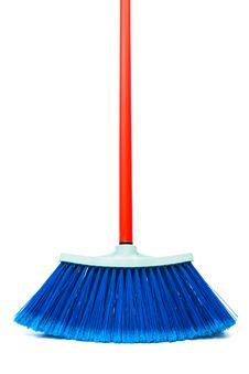 Blue Brush Stock Image